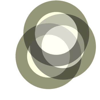 Three Gray Circles